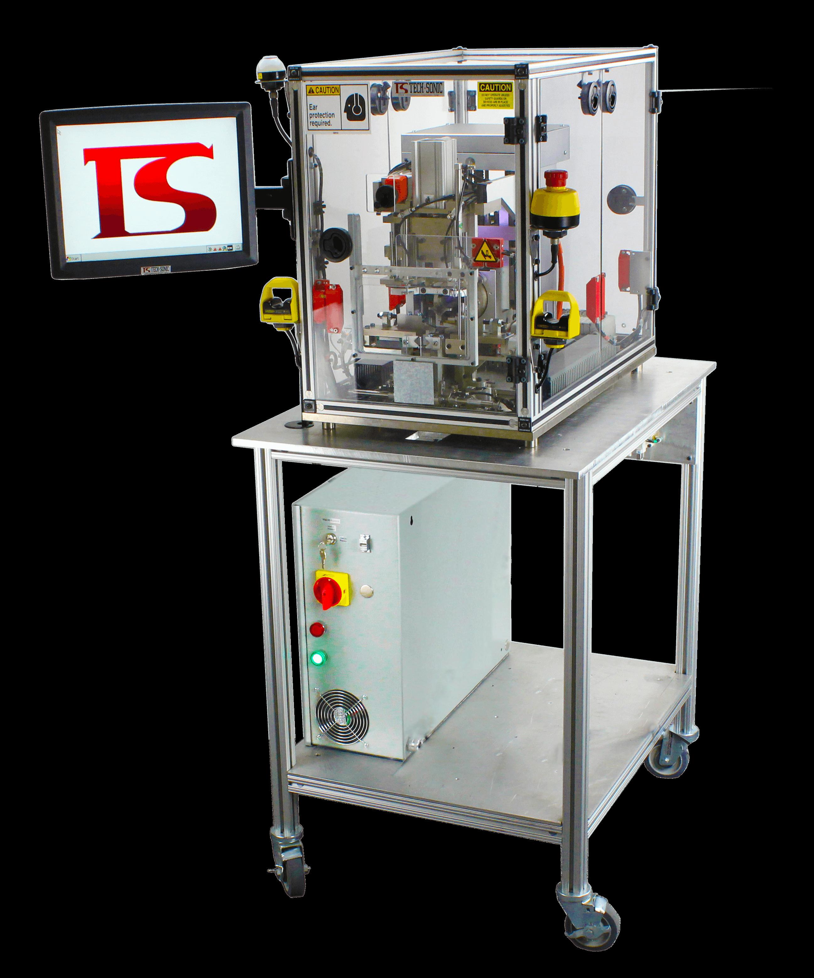 US-3020SRT Servo Ultrasonic Ring Termination full machine picture