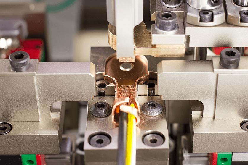 ultrasonic ring terminal weld