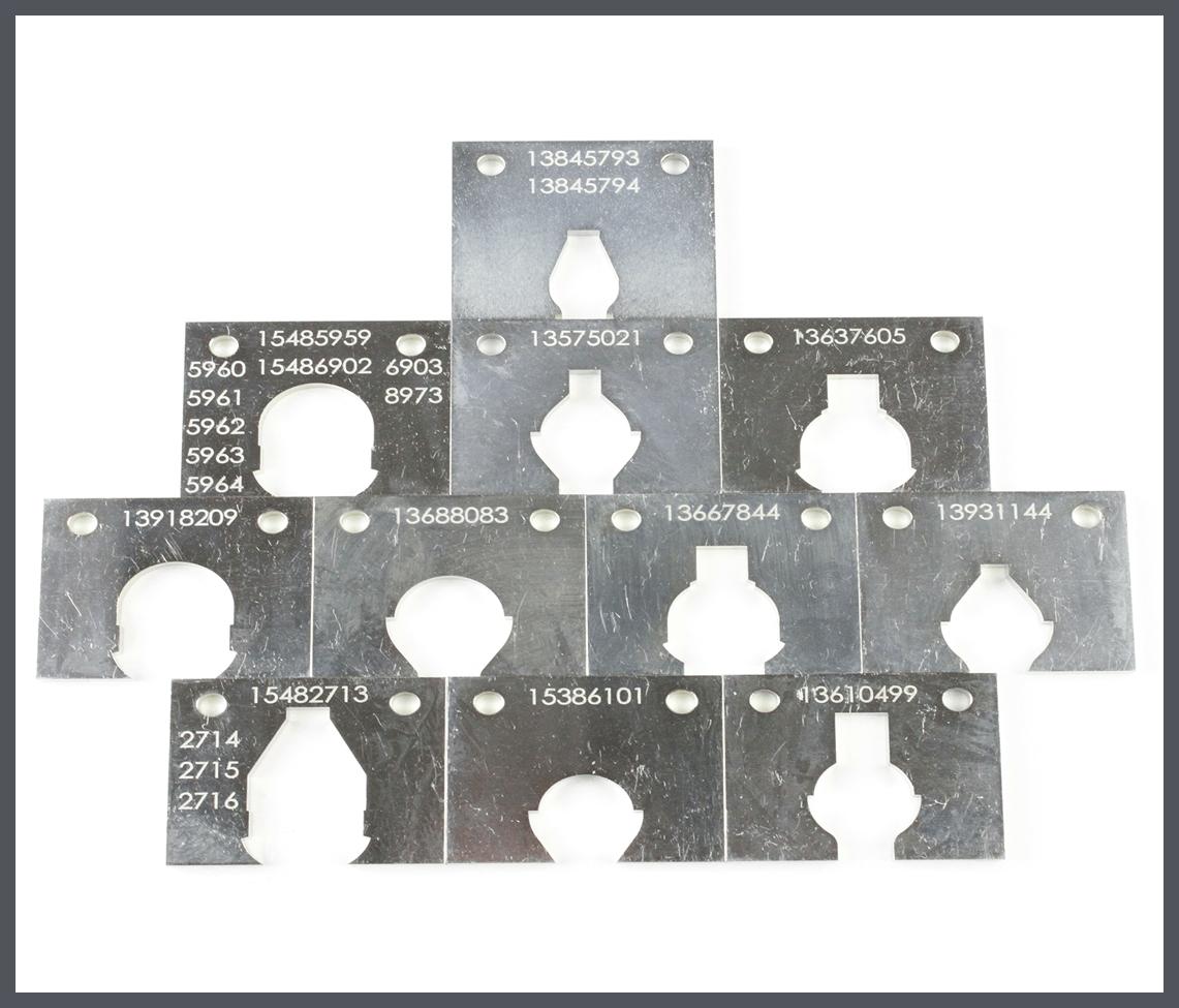 US-3020SRT Interchangeable nest's